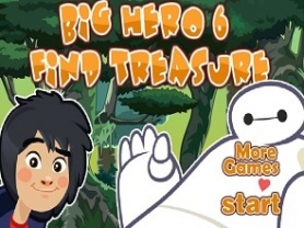 Big Hero 6 Find Treasure